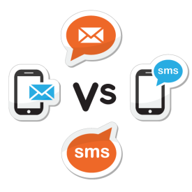 email vs sms marketing for business