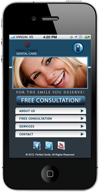dental mobile marketing