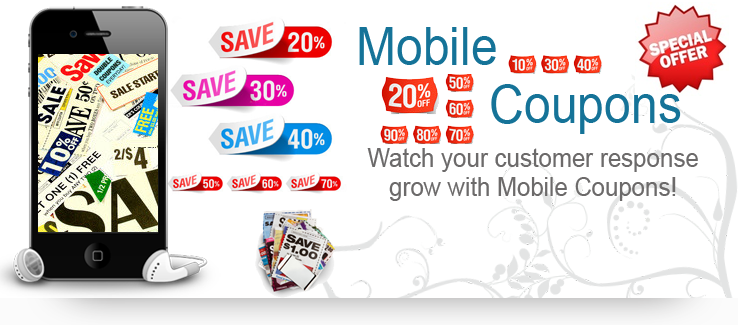 mobile coupons for business